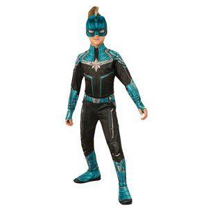 Captain Marvel Kree Girls 8-10 Costume